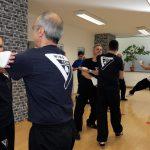 Ellenbogen Distanz in der Selbstverteidigung, Selbstverteidigung Stuttgart, Fachschule für Selbstverteidigung, Einblick ins Training