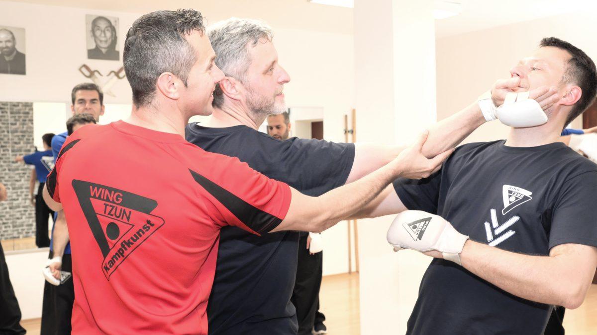 Sifu Sergej Untrerricht, Wing Tzun lernen