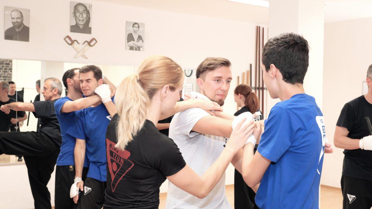 Sjie Eva Unterricht, Wing Tzun lernen, Selbstverteidigung Stuttgart