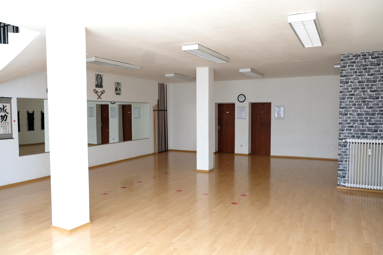 Trainingsraum, Fachschule für Selbstverteidigung, Wunnensteinstr. 41, Stuttgart