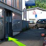 Wing Tzun, Anfahrt, Weg zur Schule, Fachschule für Selbstverteidigung Wunnensteinstraße, Stuttgart