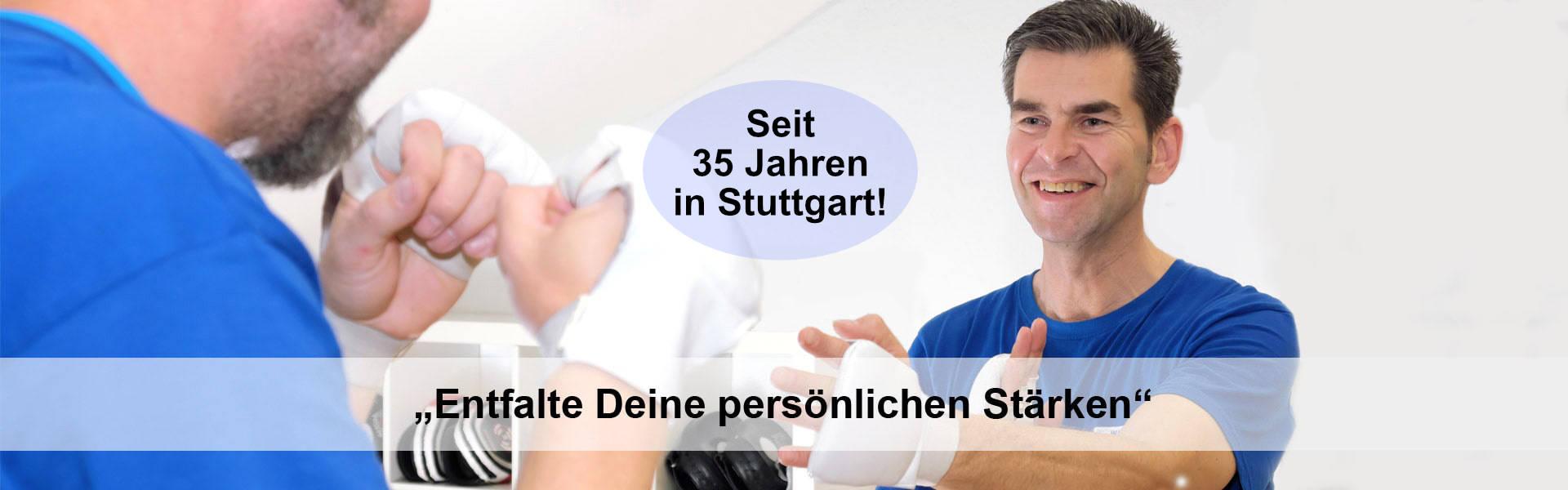 Fachschule für Selbstverteidigung Stuttgart, seit 35 Jahren